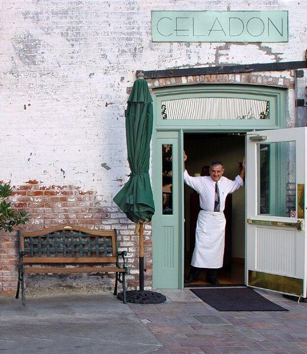 Celadon's Restaurant Side Entrance