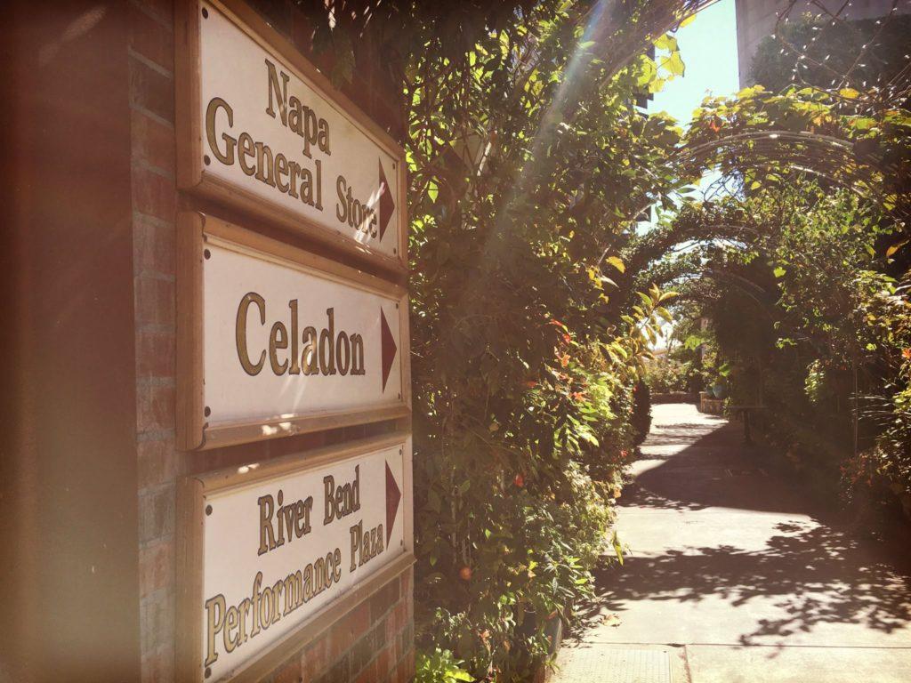 Celadon's Garden Walk