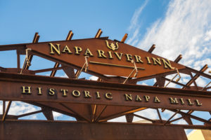 Napa River Inn Sign