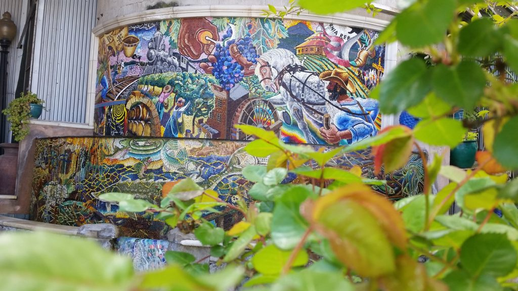 Napa Mosaic Fountain