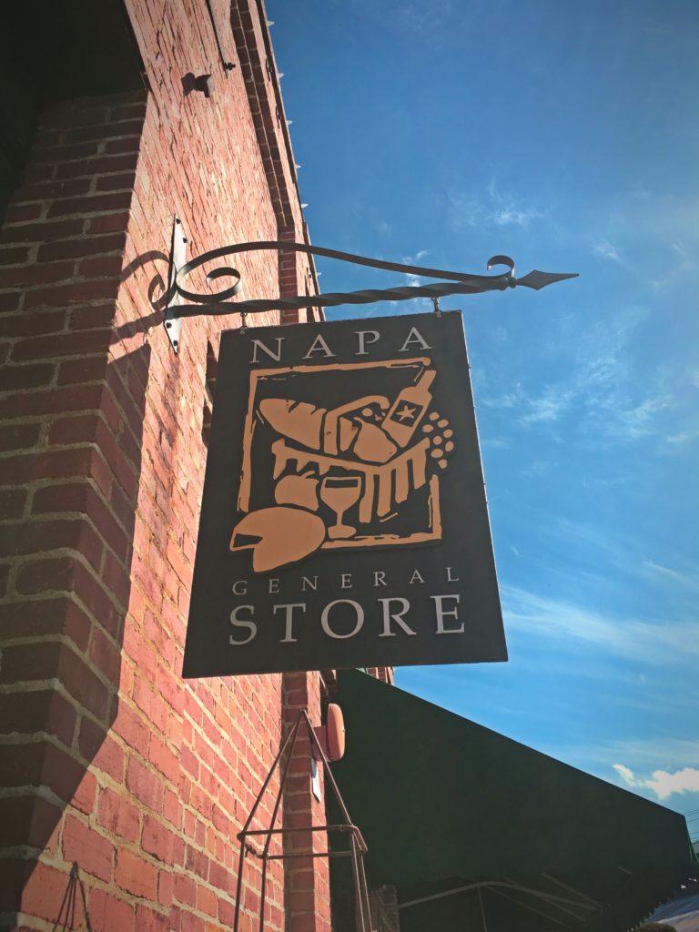 Napa General Store Sign